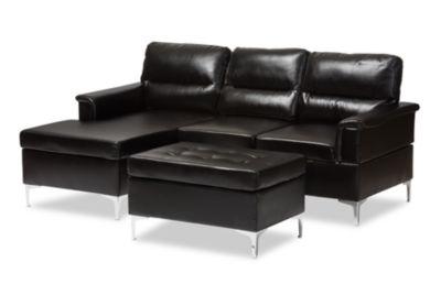 Baxton Studio Kinsley 3-pc. Seating Set