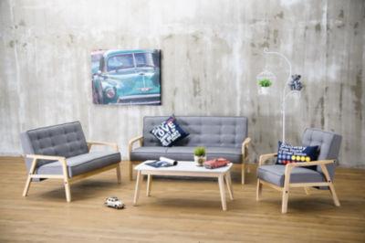 Baxton Studio Timor 3-pc. Seating Set