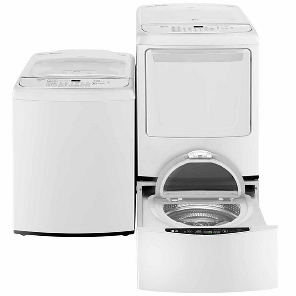 LG ENERGY STAR®  4.5 cu. ft. Ultra Large Capacity High Efficiency Top Load Washer with Front Control Design