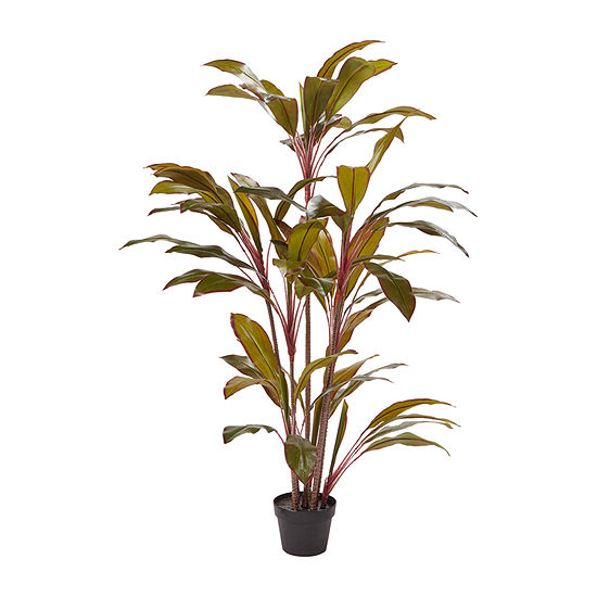 Lavish Home 59 In. Tall Artificial Potted Cordyline Plant