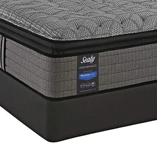 Sealy® Humbolt Ltd Cushion Firm Pillow Top - Mattress + Box Spring