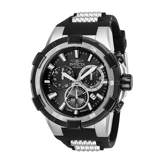Invicta Aviator Unisex Black Bracelet Watch-25860