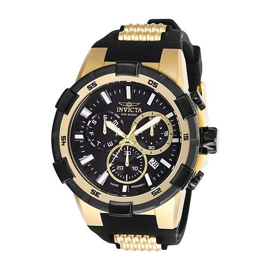 Invicta Aviator Unisex Black Bracelet Watch-27350