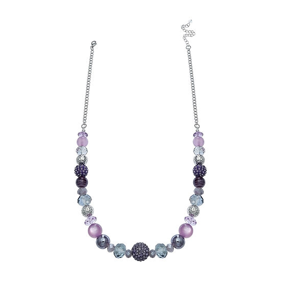 Mixit Single Row Beaded Necklace