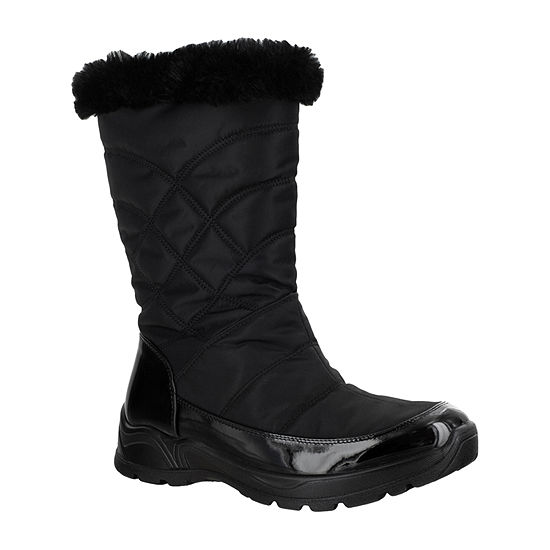 Easy Street Womens Cuddle Waterproof Winter Boots