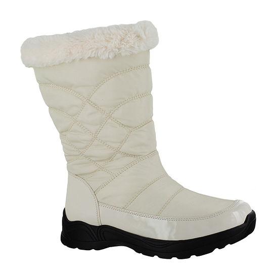 Easy Street Womens Cuddle Waterproof Winter Boots