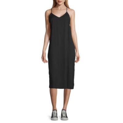 Arizona-Juniors Sleeveless Shift Dress