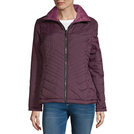 Free Country Reversible Fleece Lined Midweight Quilted Jacket