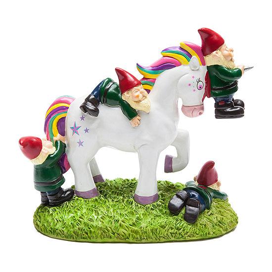 Big Mouth Inc.® Unicorn Attack Garden Gnome