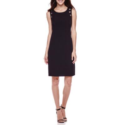 Studio 1® Sleeveless Grommet Dress
