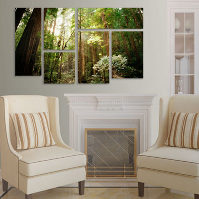 Muir Woods 6-Panel Canvas Wall Art Set