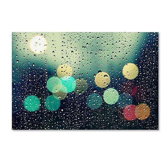 Rainy City Canvas Wall Art - JCPenney