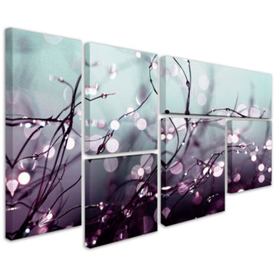 Somewhere Over the Rainbow 6-Panel Canvas Wall Art Set