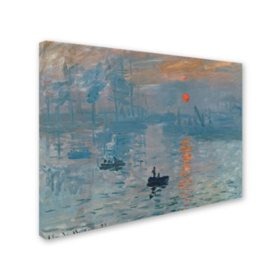 Impression Sunrise Canvas Wall Art