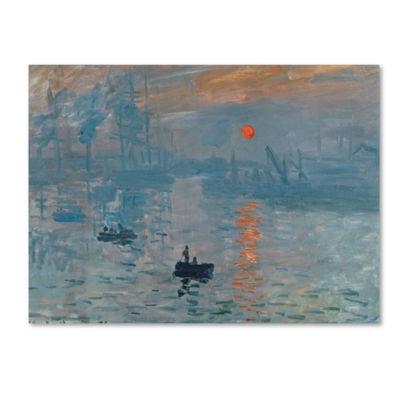 Impression Sunrise Canvas Wall Art