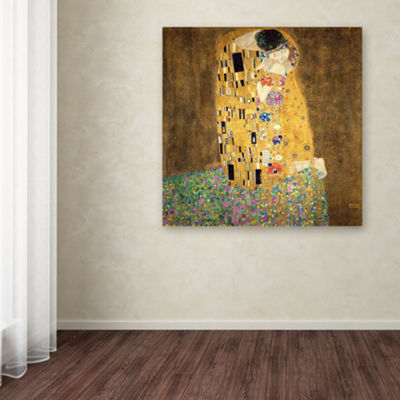 The Kiss Canvas Wall Art