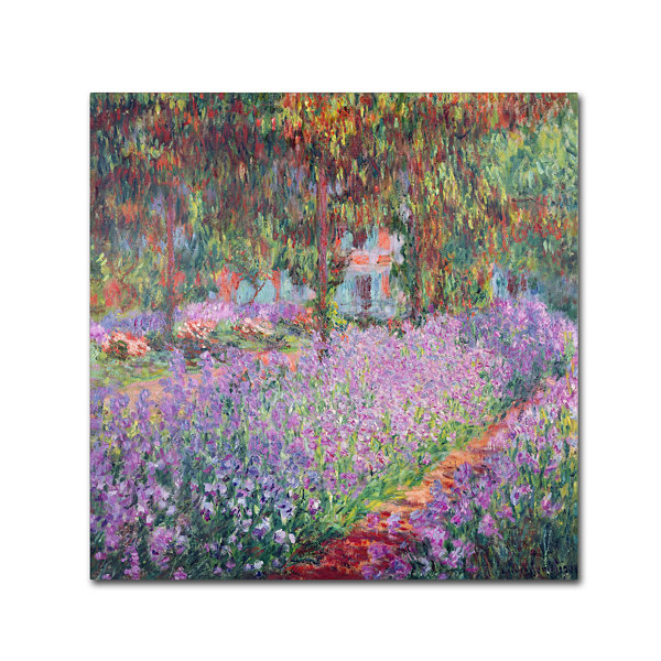 The Artist's Garden Canvas Wall Art