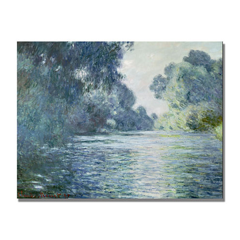 Branch of the Seine Canvas Wall Art