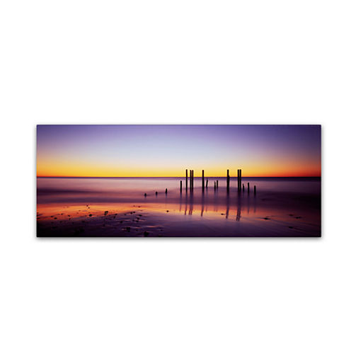 Wilunga Glow 5-Panel Canvas Wall Art Set