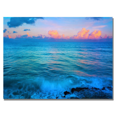 St. Marten's Sunset Canvas Wall Art