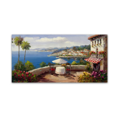 Italian Afternoon Canvas Wall Art