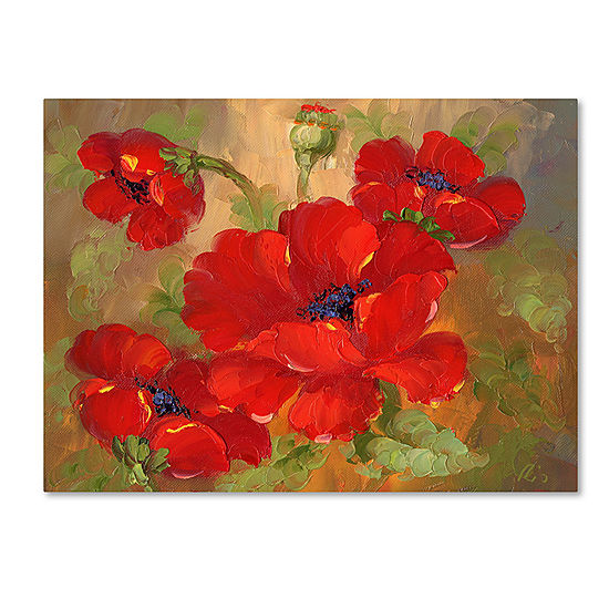 Poppies Canvas Wall Art - JCPenney