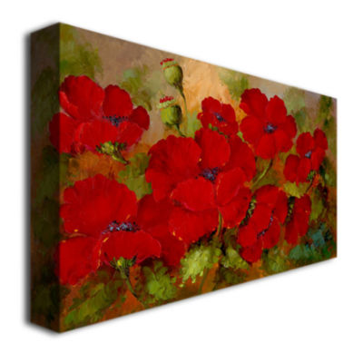 Poppies Canvas Wall Art