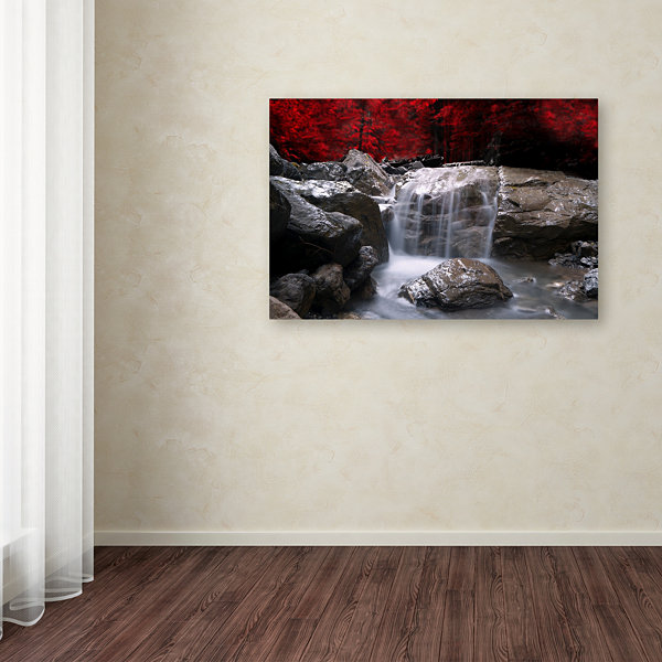Red Vision Canvas Wall Art