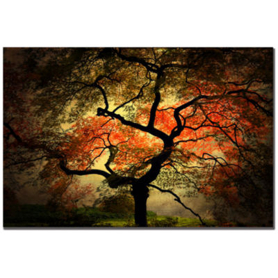 Japanese Tree Canvas Wall Art