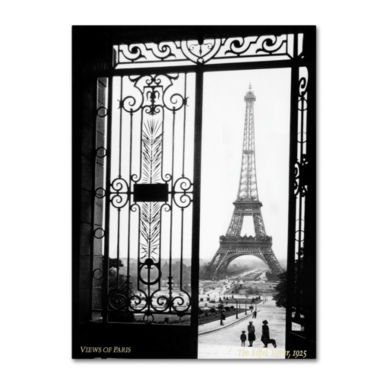 View of Paris Canvas Wall Art