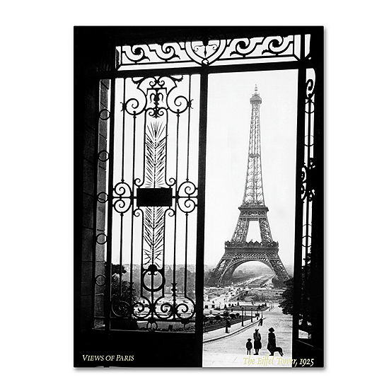 View of Paris Canvas Wall Art - JCPenney