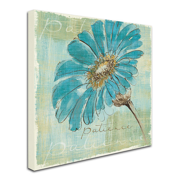 Spa Daisies Canvas Wall Art