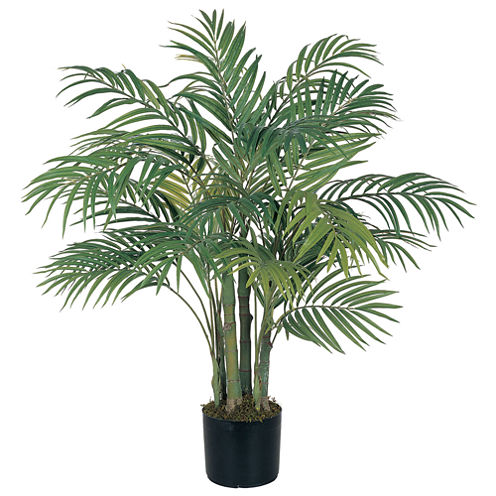 Nearly Natural Areca Silk Palm Tree