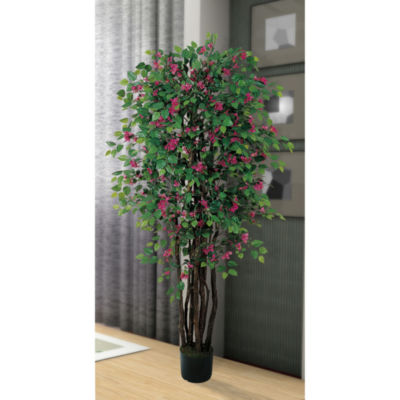 Nearly Natural 6-ft. Bougainvillea Silk Tree