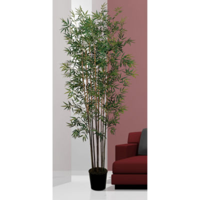 Nearly Natural 6-ft. Mini Bamboo Faux-Silk Tree