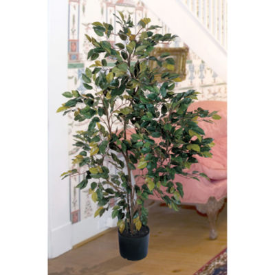 Nearly Natural 4-ft. Ficus Faux-Silk Tree