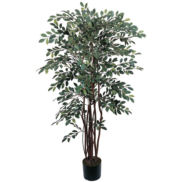 Nearly Natural 4-ft. Ruscus Silk Tree