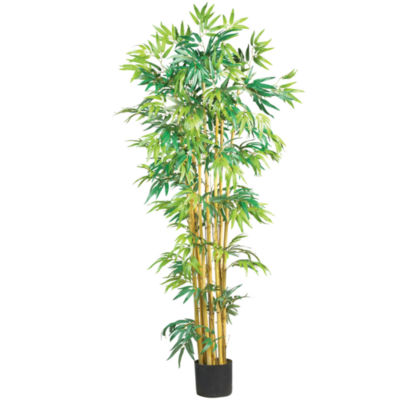 Nearly Natural 5-ft. Bambusa Bamboo Silk Tree