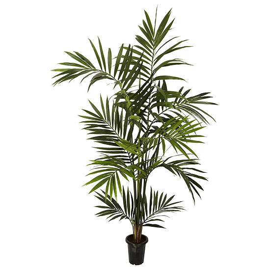 Nearly Natural 6-ft. Kentia Palm Silk Tree