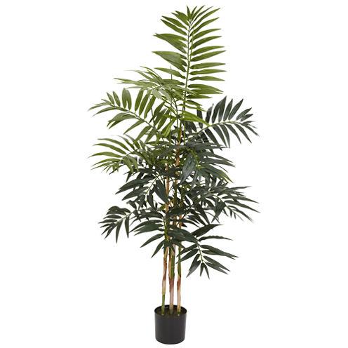 4' Bamboo Palm Silk Tree