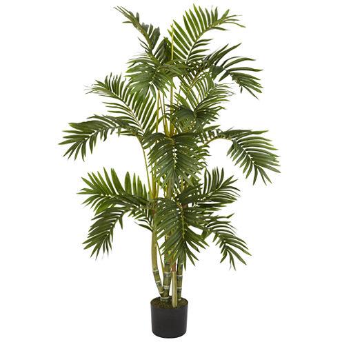 Nearly Natural 4-ft. Areca Palm Silk Tree