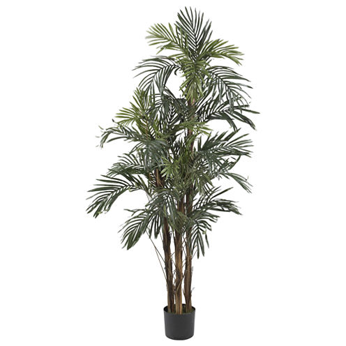Nearly Natural Robellini Palm Silk Tree