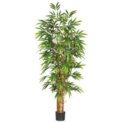 Nearly Natural 6' Belly Bamboo Silk Tree