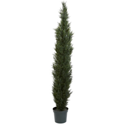 "Nearly Natural Mini Cedar Pine Tree With 12"" Pot"