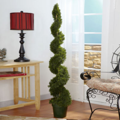 Nearly Natural Cedar Spiral Silk Tree