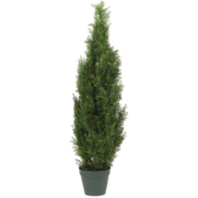 Nearly Natural 4-ft. Cedar Tree Silk Tree