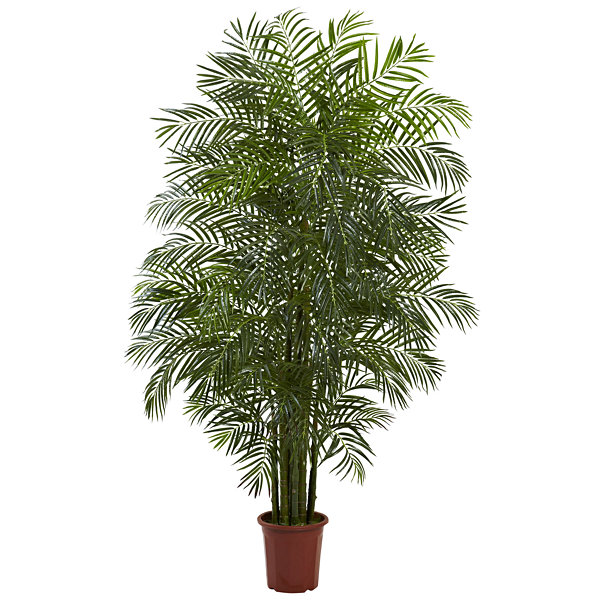 Nearly Natural 7.5-ft. Areca Palm Tree Uv Resistant Indoor/Outdoor