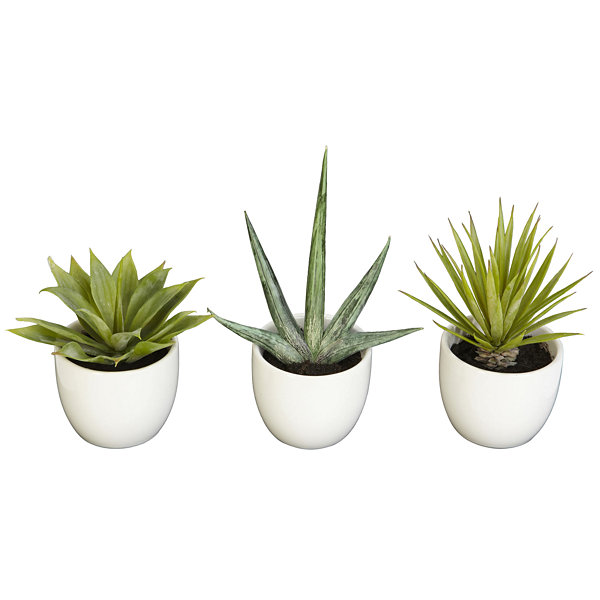 Nearly Natural Southwest Collection Set Of 3