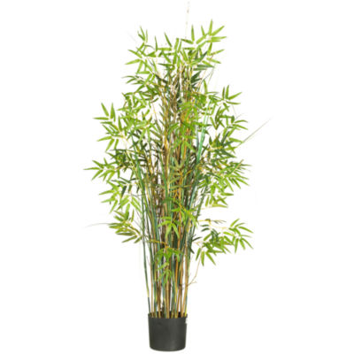 Nearly Natural 5-ft. Bamboo Grass Silk Plant
