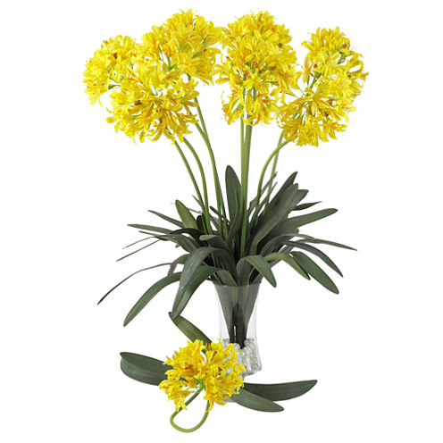 """Nearly Natural 29"""" African Lily Stems - Set of 12"""